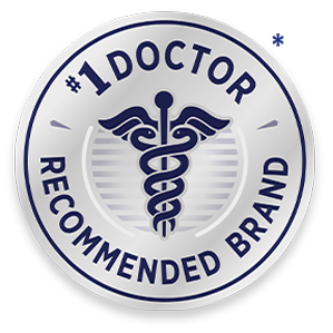 #1 Doctor Recommended*