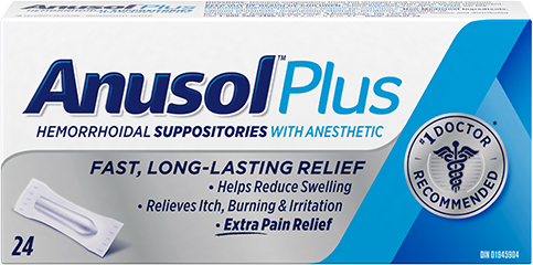 Anusol™ Plus Suppository