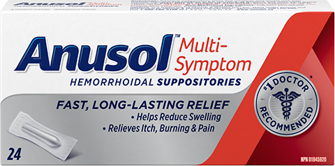 Anusol™ Multi-Symptom Suppository