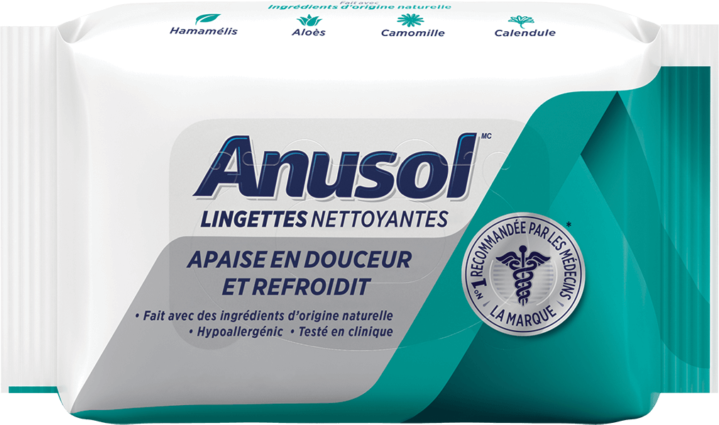 Anusol Lingettes Nettoyantes